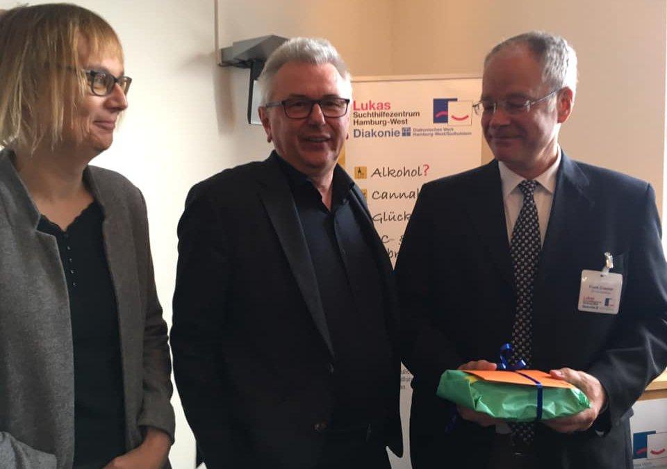 40 Jahre Lukas Suchthilfezentrum – die HLS gratuliert
