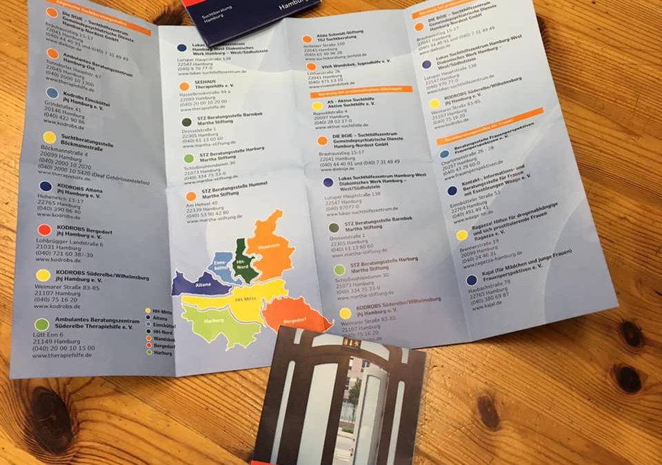 """Neu-Auflage des Flyers """"Weg aus der Sucht"""" erschienen"""