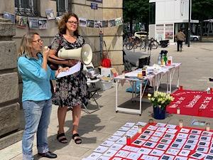21. internationaler Gedenktag der Drogentoten fand 2019 auch in Hamburg statt